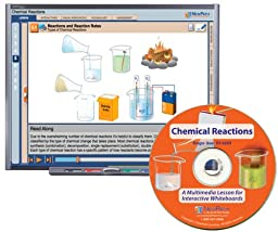 NewPath Learning Chemical Reactions Multimedia Lesson, Single User License, Grade 6-10