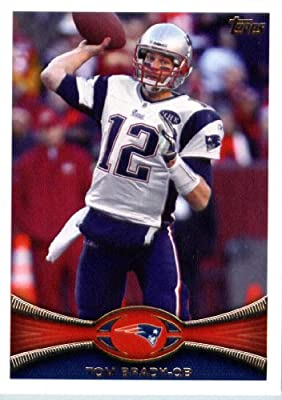 2012 Topps Football Card # 440 Tom Brady New England Patriots (NFL Trading Card)