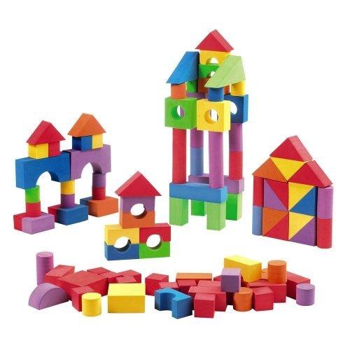 Verdes Foam Building Blocks 100 Pieces Toys Games Toys Toys