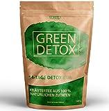 GREEN DETOX TEE - 14 Tage Detox Kur - Entschlackungstee - 100% natürliche Kräuterteemischung - Grüner Tee