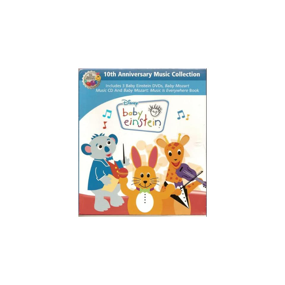 Baby einstein animal discovery cards toys amp games on popscreen - Disney Baby Einstein 10th Anniversary Music Collection Includes 3 Dvds Baby Beethoven Baby Mach