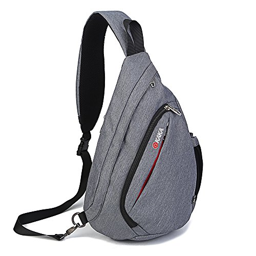 ANYHOW-Sling-Bag-Backpack-Canvas-Unbalance-Multipurpose-Daypack-Book-Bag