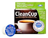 Clean Cup 5-Pack Single Cup Brewing Cleaning Cups, Brown/Green