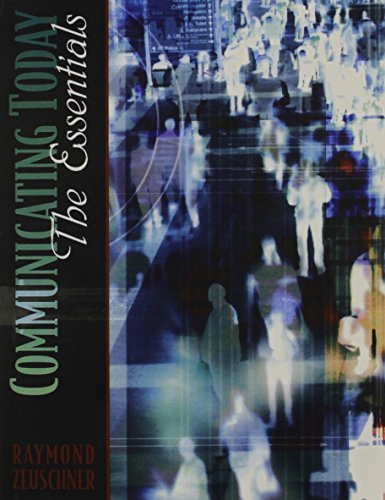 Communications Today Essentials, a Student CD and Video Workshop for Introduction to Communication Version 2.0