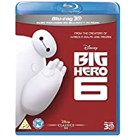 Big Hero 6 [Blu-ray 3D + Blu-ray]