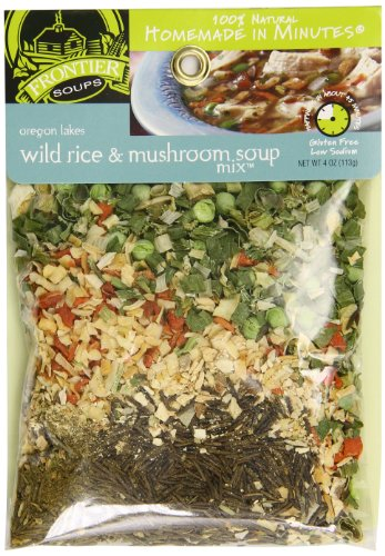 Frontier Soups Homemade In Minutes Soup Mix, Oregon Lakes Wild Rice and Mushroom, 4 Ounce (Dehydrated Vegetable Mix compare prices)