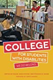 img - for College for Students with Disabilities: We Do Belong book / textbook / text book