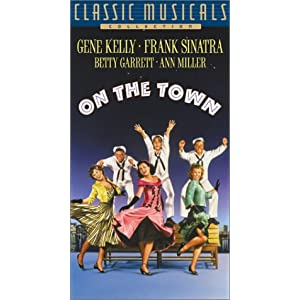 on the town gene kelly frank sinatra betty garrett ann