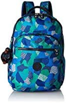 Kipling Seoul Backpack, Enjoy The Waves, One Size