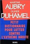 Petit Dictionnaire pour lutter contre...
