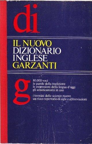 Garzanti: Il Nuovo Dizionario Inglese (Italian Edition) (Italian Dictionary Garzanti compare prices)