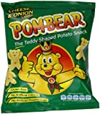 Pom-Bear Cheese and Onion Flavour Potato Snacks 19 g (Pack of 36)