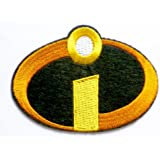 The Incredibles Iron on Sew on Embroidered Patch Badge Applique Motif