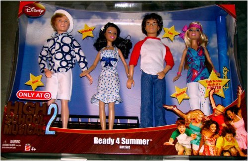 Buy Low Price Mattel High School Musical Ready 4 Summer Gift Pack Figure (B000ZQCHUK)