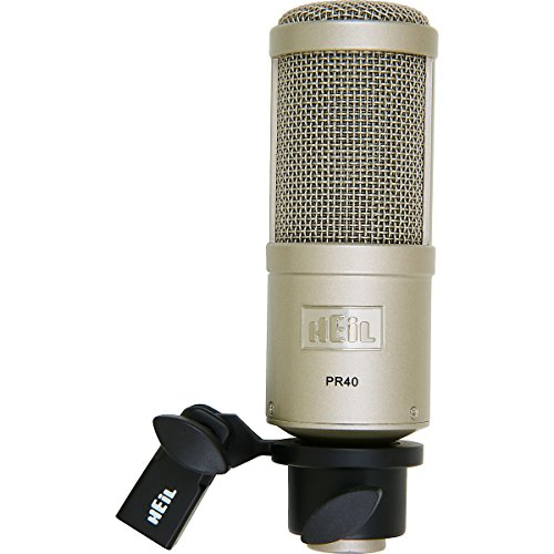 Heil Sound Pr40 Dynamic Microphone (Carrying Case Included)