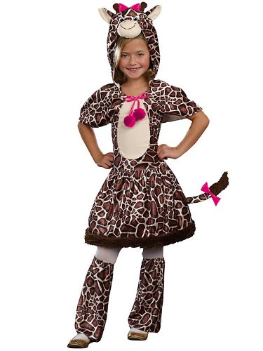 SugarSugar Kids Gigi Giraffe Costume, 3-Piece