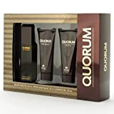 Quorum 3 Piece Set Of Spray, After Shave And Shower Gel