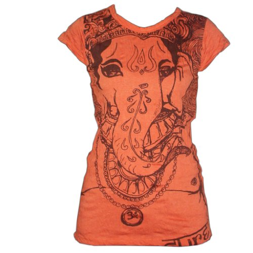 sure-ganesh-sure-t-shirt-grosse-l-in-orange