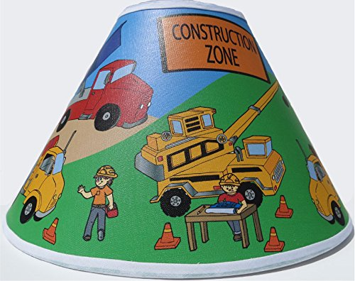 Construction Truck Lamp Shades / Constrution Truck Childrens Decor (Dump Truck Lamp compare prices)
