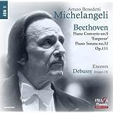 ベートーヴェン : ピアノ協奏曲 第5番 「皇帝」 他 (Beethoven : Piano concerto no.5 'Emperor' , Piano Sonata no.32 Op.111 | Encores ~ Debussy : Images(4) ) / Arturo Benedetti Michelangeli) [SACD Hybrid] [輸入盤]