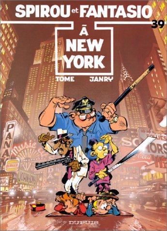 Spirou et Fantasio n° 39 Spirou à New York