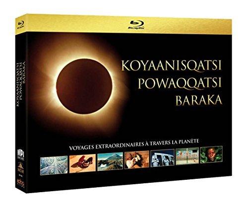 Ecological Trilogy - 4-Disc Box Set ( Koyaanisqatsi / Powaqqatsi / Baraka ) ( Koyaanisqatsi: Life Out of Balance / Powwaqatsi: Life in Trans [ Origine Francese, Nessuna Lingua Italiana ] (Blu-Ray)