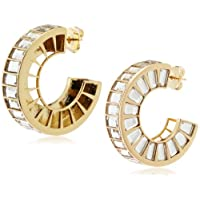 [アイシャーヤ] Isharya prism mirror front hoop earring フックタイプピアス E1450-20-105