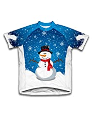 Mr. Snowy Short Sleeve Cycling Jersey for Women