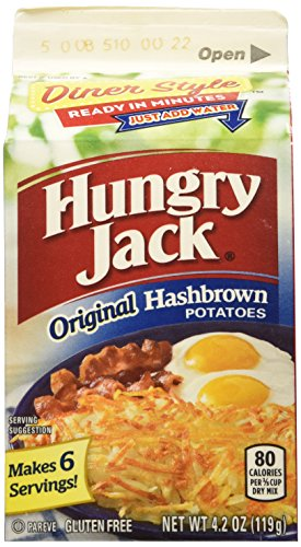 Hungry Jack Premium Hashbrowns, 4.2-Ounce (Pack of 9) (Hashbrowns Dehydrated compare prices)