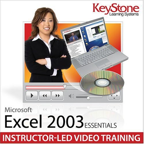 Keystone Learning Systems Microsoft Excel 2003 Essentials - Beginner/Intermediate/Advanced Instructor-based Video Training