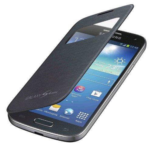 Samsung Galaxy S4 Mini S View Flip Cover - Black
