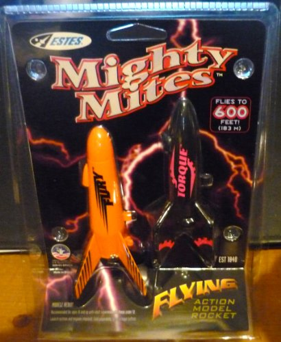 #1840 Estes Mighty Mites Fury/Torque Model Rocket Kit