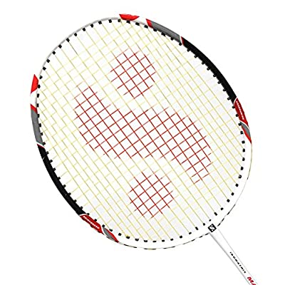 Silver's Max Power Badminton Racquet, Senior G3 (White/Black)