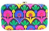 Purpledip Traditional Women's Clutch Multicolor(purse15d)