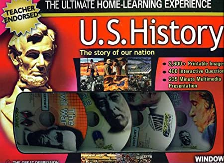 U.S. HISTORY THE STORY OF OUR NATION 4CDS