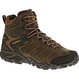 Merrell Men\'s Chameleon Shift Mid Waterproof Hiking Boot, Bitter Root, 8.5 M US