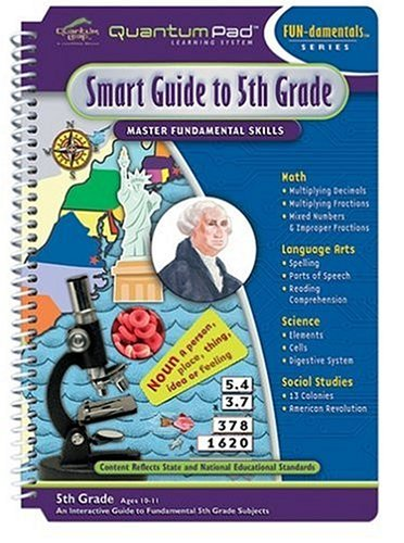 Quantum Pad Library: Smart Guide To Fifth Grade LeapPad Book