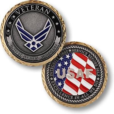 U.S. Air Force Veteran Coin