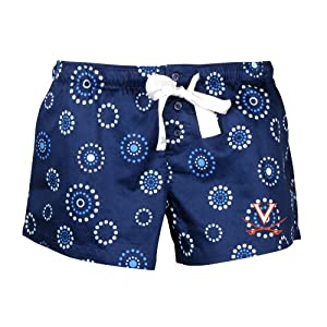 Buy NCAA Virginia Cavaliers Ladies Medallion Short, Navy by Concepts Sport