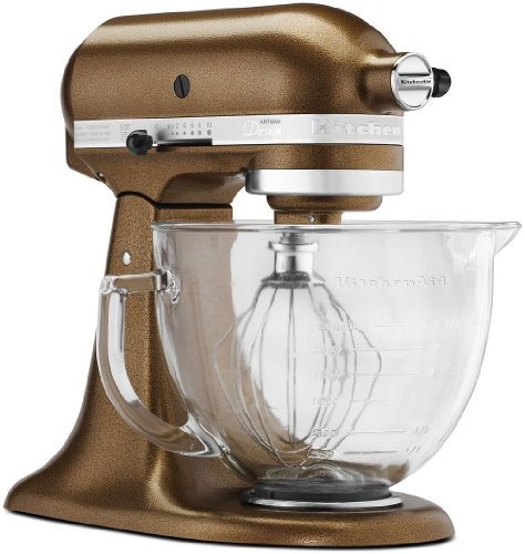 Kitchenaid Designer Series Tilt-Head Stand Mixer Antique Copper Ksm155Gbqc Ign
