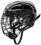 COVERT PX2HC6BKS Warrior Ice Hockey Players Helmet with Cage, Black, Small
