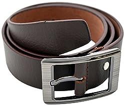 URBAN DISENO Men's Belt (Ud-belt-02_Large, Brown, Large)