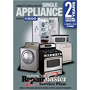Warrantech Repair Master Two (2) Year Extention Warranty for Appliances