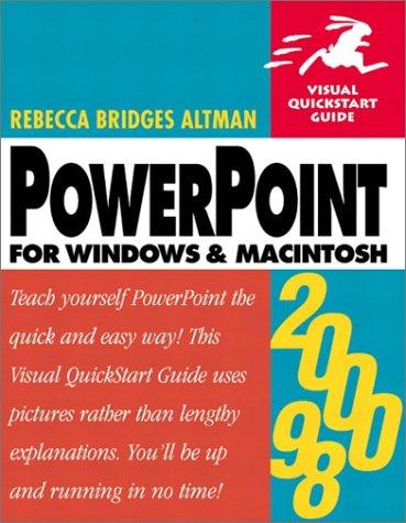 PowerPoint 2000/98 for Windows & Macintosh (Visual QuickStart Guide)
