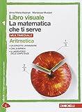Libro visuale la matematica che ti serve. Aritmetica 1-Geometria 1. Con e-book. Con espansione online. Per le Scuole superiori