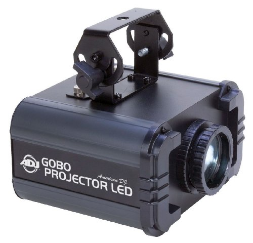 American Dj   Gobo Projector Led Effect Light, Bright White 10W Led Indoor Gobo Projector, High Quality Optics - Clear Powerful Output
