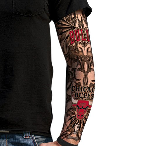 Amazon.com : NBA Chicago Bulls Light Undertone Tattoo Sleeve