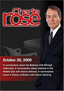 Charlie Rose with Richard Holbrooke; Hanan Ashrawi; Simon Schama (October 30, 2000)