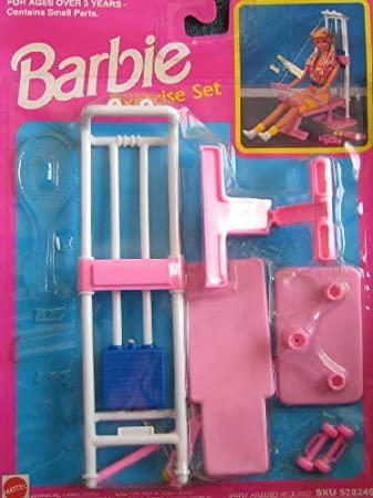 Barbie Exercise Set (1992 Arcotoys, Mattel) by Barbie