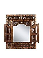 COLONIAL STYLE Espejo de Pared Batik